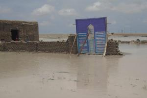 Flood damage in White Nile State, Sudan, August 2020. Image: Sudan Civil Defence.