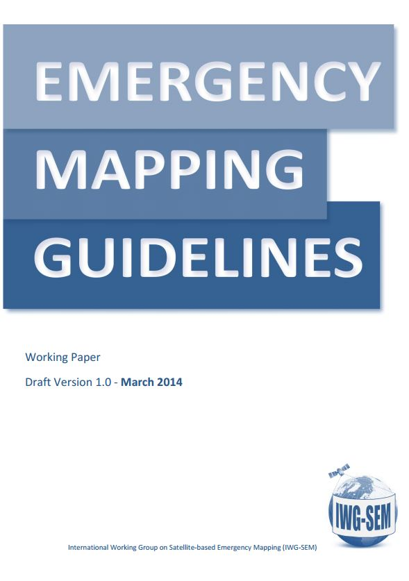 IWG-SEM Emergency Mapping Guidelines