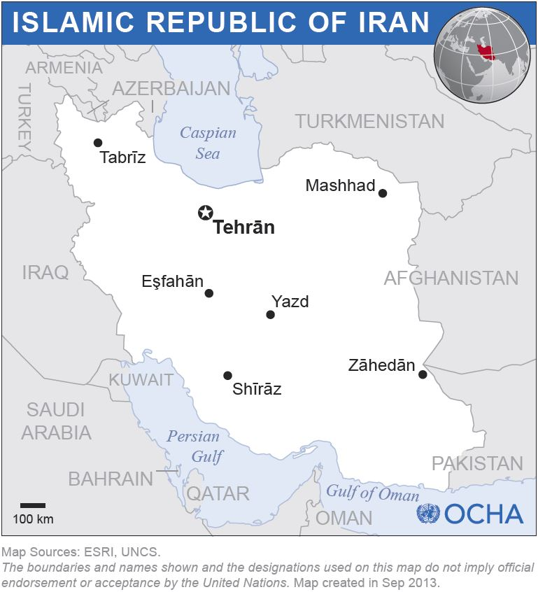 Iran - location