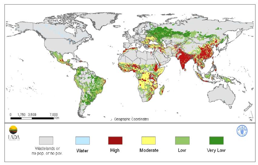 Data application of the month: Land degradation   UN-SPIDER ...
