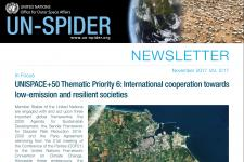 UN-SPIDER Newsletter 2/17