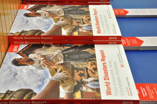 Launch of the 2015 World Disasters Report at the United