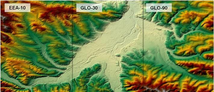 Copernicus Digital Elevation Models