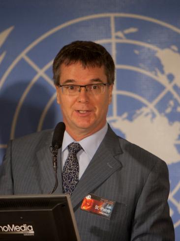 Luc St-Pierre, Senior Programme Coordinator