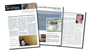 UN-SPIDER Newsletter on Knowledge Management
