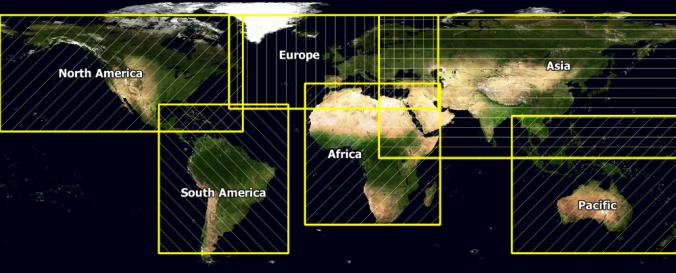 Screenshot of Agrometeorological Data in SPIRITS format (JRC-IES)