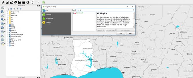 trends earth QGIS Plugin | UN-SPIDER Knowledge Portal