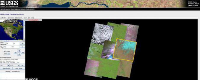 USGS GloVis | UN-SPIDER Knowledge Portal