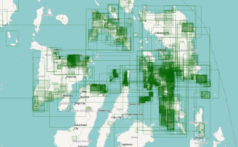 Relief efforts in Philippines satellite data used for crowdsource