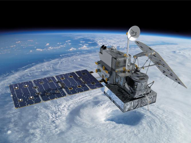 Weather forecasting usa and japan to launch precipitation satellite artist concept of the global precipitation measurement gpm core observatory satellite credits nasa goddard space flight center freerunsca Images