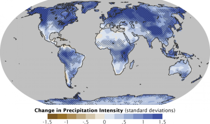 Precipitation World Map.Precipitation Monitoring On Ground Research Complements Satellite