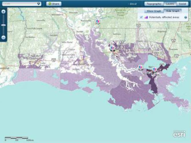 100 Year Flood Zone Mapped Site Name