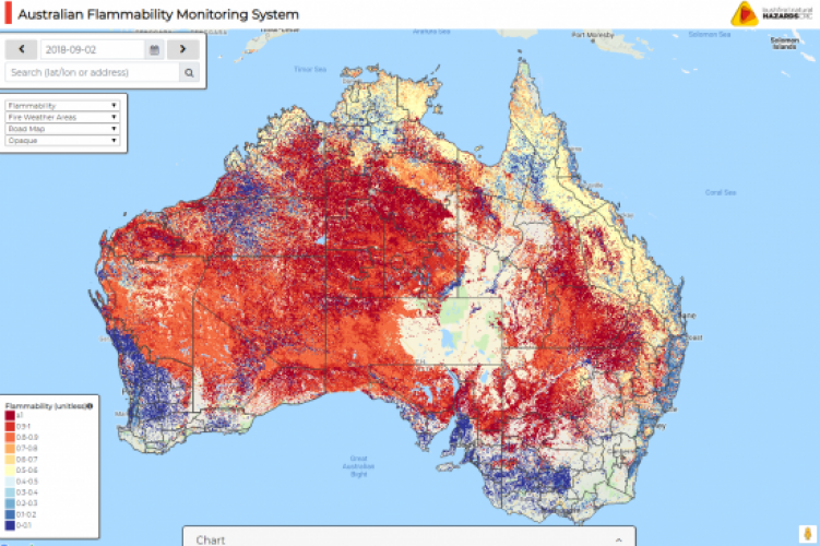 Australia Map Vegetation.New Australian Online Mapping Tool To Help Detect Flammable