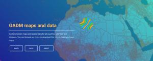 Screenshot of Global Administrative Areas