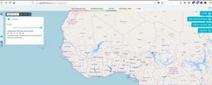 Screenshot of Global Flood Awareness System (GLoFAS)
