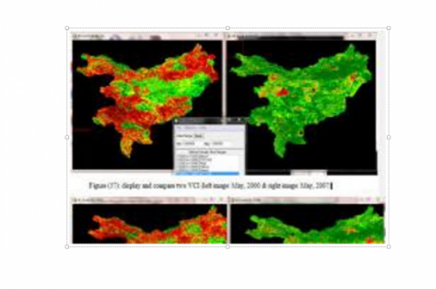 Drought monitoring using the Vegetation Condition Index (VCI