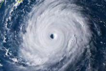 Watching a Typhoon from Space with Sentinel-1