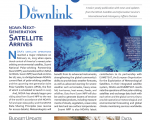"First edition of NOAA's newsletter ""The Downlink"""