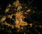 Seoul, South Korea seen from space