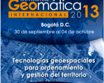 Logo Geomatics Week 2013