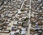 Flooded streets in Haiti in 2010