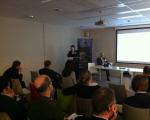 Prof. Nataliia Kussul of the UN-SPIDER RSO delivered a presentation