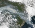 Fires in Russia seen from NASA's Aqua satellite