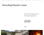 Recording disaster losses: recommendations for a European approach