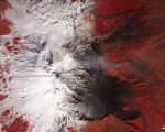 Mount Etna image taken by NASA' Terra satellite