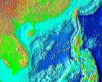 satellite image of South China sea