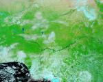 Nigeria seen from space