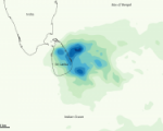 Sri Lanka is often affected by heavy precipitation and floods.