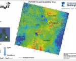 PUNNET maps and monitors land stability