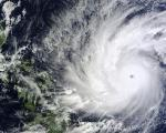 NASA's Terra satellite took an image of Super Typhoon Hagupit