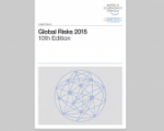 The 2015 edition of the Global Risks report ranks extreme weather events among the two top risks.