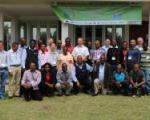 Group picture of the participants of the workshop on digital elevation models