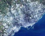 Landsat image of Toronto, capital of Ontario, Canada (Image: NASA)