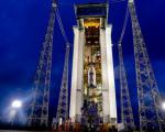 Sentinel 2A on the point of being launched (Image:ESA)