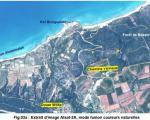 Extract from ALSAT-2A image of Benabdelmalek Ramdane in Mostaganem Province, Algeria (Image: ASAL)