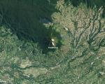NASA Earth Observatory image shows the Sinabung Volcano in Indonesia