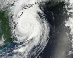 Hurricane Arthur captured by NASA on 4 July.