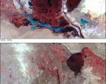 Landsat satellite shows the vanishing wetlands in the Arab Region