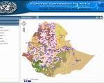 E-health System developed by ECA using geospatial data