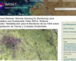 Screenshot of NASA ARSET training website. Image: NASA.
