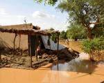 Flood in Niger in 2012.