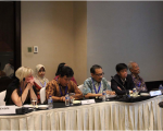 Representatives of DLR and LAPAN during the meeting.