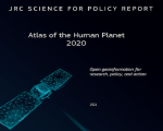 Cover of the JRC Atlas of the Human Planet 2020 report. Image: Joint Research Centre (JRC) of the European Commission