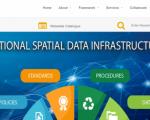 Screenshot of Sri Lanka National Spatial Data Infrastructure (NSDI)