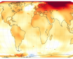 Temperature Anomalies in 2020. Image: NASA