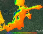 Monitoring upwellings in the Baltic Sea. Image: Copernicus Marine Service.